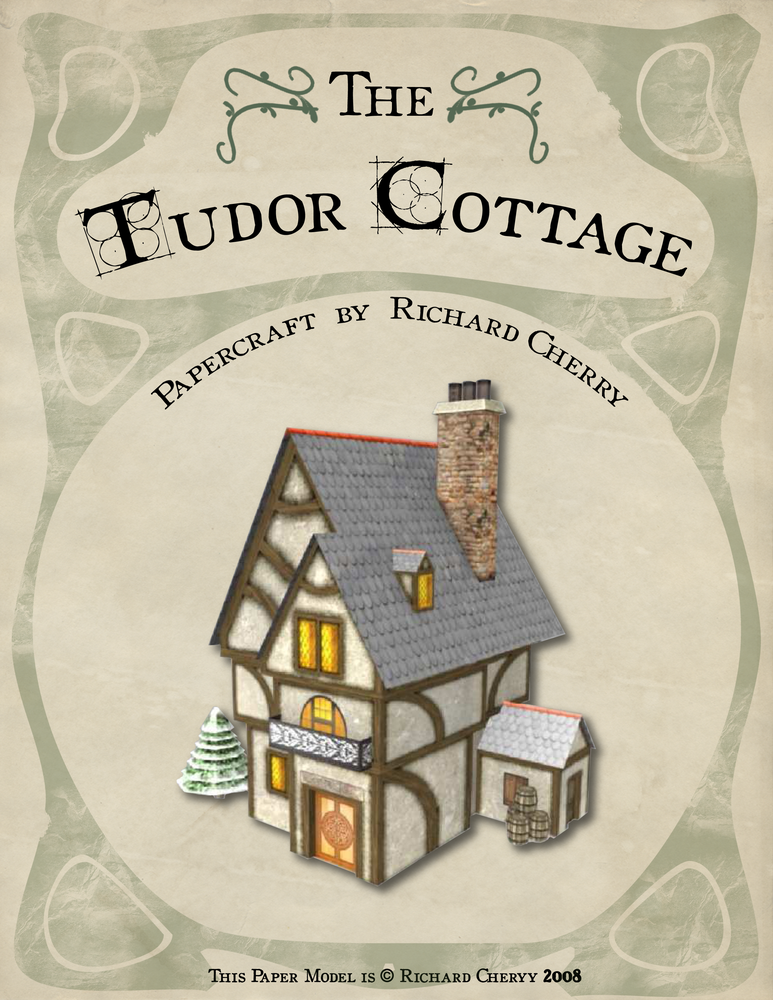 Tudor Cottage by SiriusArtWorks