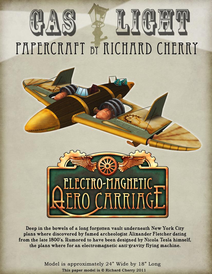 Aero Carriage Paper Model