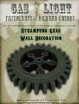 Steampunk Wall Gear Paper Model