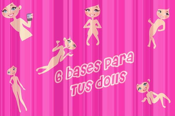 Bases para dolls by TPSediciones