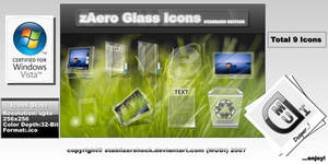 zAero Glass Icons Standart ED. by stablizershock