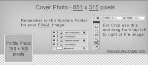 Facebook Timeline Cover Photo Template PSD [FREE]