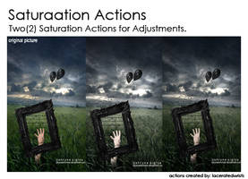 Saturation Actions
