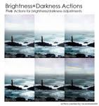 Brightness+Darkness Actions