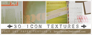 30 paper scan icon textures