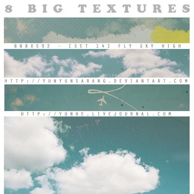 fly sky high - textures. by yunyunsarang