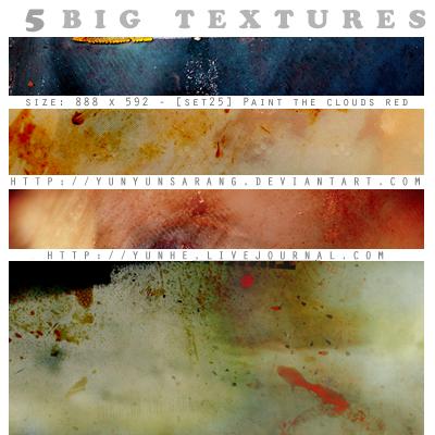5 big textures - paint the by yunyunsarang