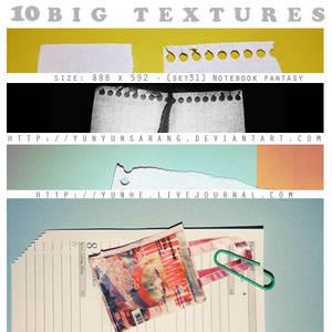 10 big textures - notebook