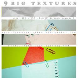9 big textures - notebook 2 by yunyunsarang