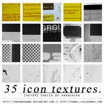 35 icon textures - choice of