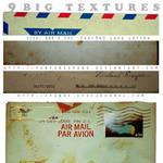 9 big textures - love letter