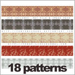 18 patterns - set 1