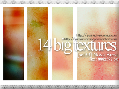 14 big textures - nova burst by yunyunsarang