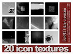 20 icon textures - stars remai
