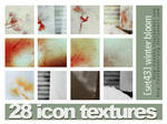 28 icon textures - winter bloo