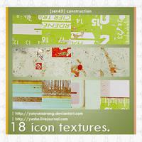 18 icon textures - constructio by yunyunsarang
