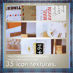 35 icon textures - twice too