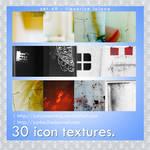 30 icon textures - liquorice