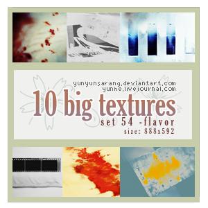 10 big textures - flavor by yunyunsarang