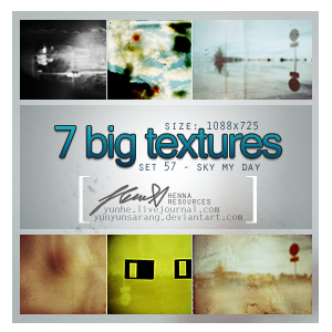 7 big textures - sky my day by yunyunsarang
