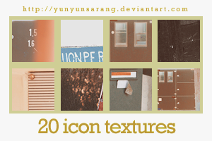 20 icon textures - queen junk by yunyunsarang