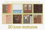 20 icon textures - queen junk
