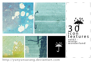 30 icon textures - winter by yunyunsarang