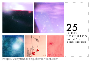 25 icon textures - pink spring by yunyunsarang