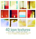 40 icon textures - colors on