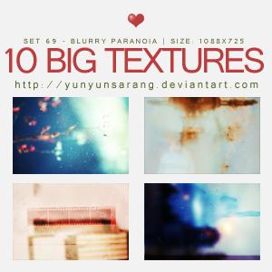 10 big textures - blurry paran by yunyunsarang
