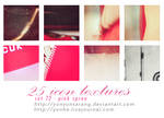 25 icon textures - pink spree