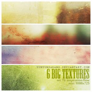 6 big textures - inspiration by yunyunsarang