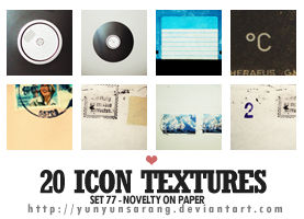 20 icon textures - novelty on