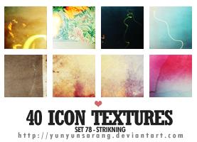 40 icon textures - strikning by yunyunsarang