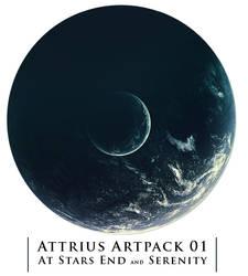 Serenity + Stars End by Attrius
