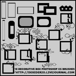 18 Photoshop CS Accent Brushes