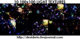 Set 03 of Icon Light Textures