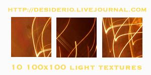 Set 06 of Icon Light Textures