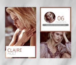 Photopack 247 // Claire Holt