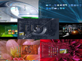 inSight a transparent theme for windows7 by Maz008