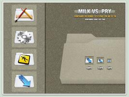 Milk Vs. Pry by Delta909