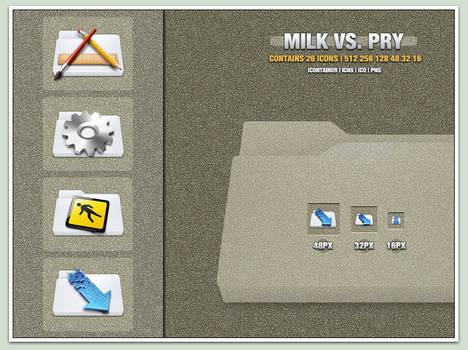 Milk Vs. Pry