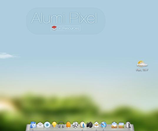 Alumi Pixel by Delta909