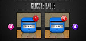 Glosste Badges by Delta909