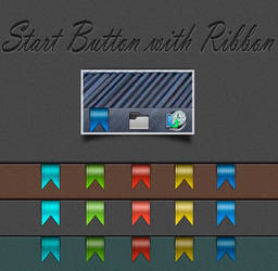 Start Button with Ribbon