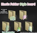 MacOs Folder Style board