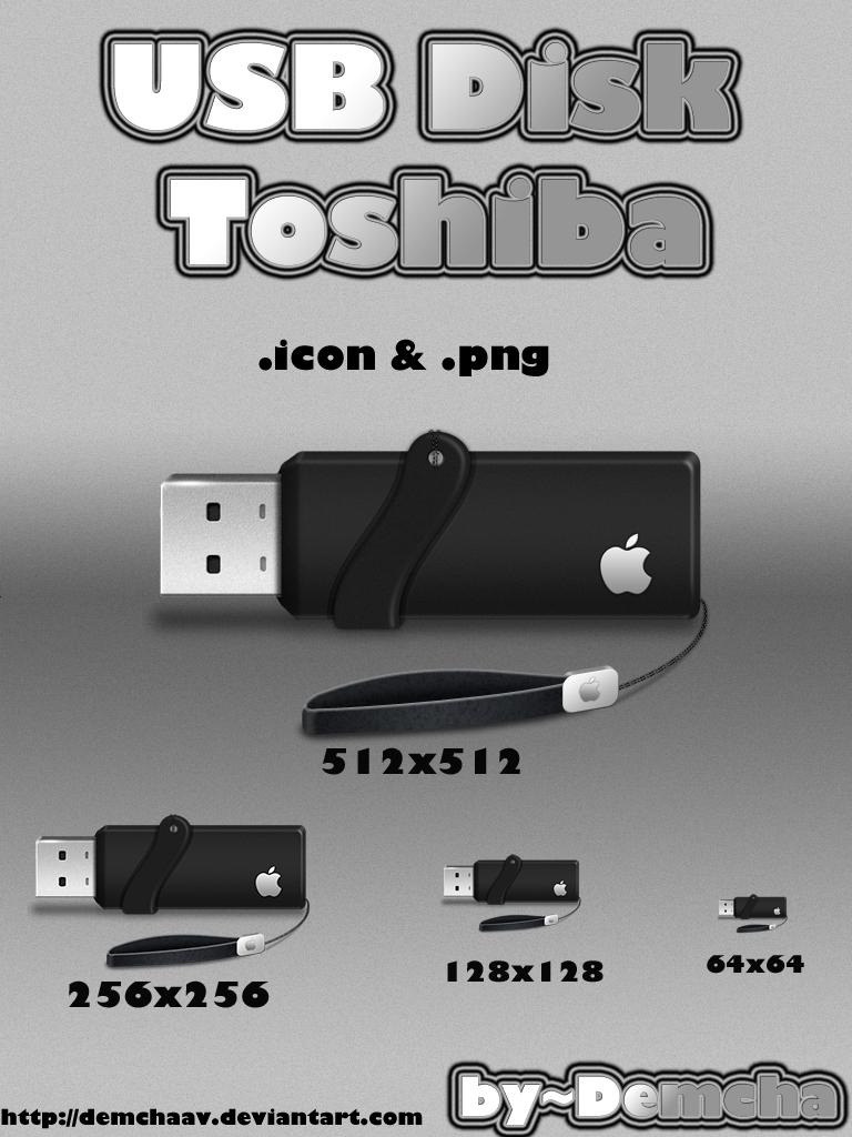 USB Disk Toshiba by DemchaAV