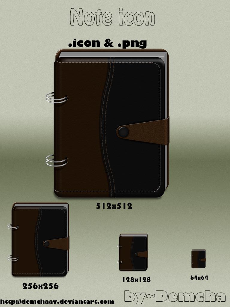 Note Icon by DemchaAV