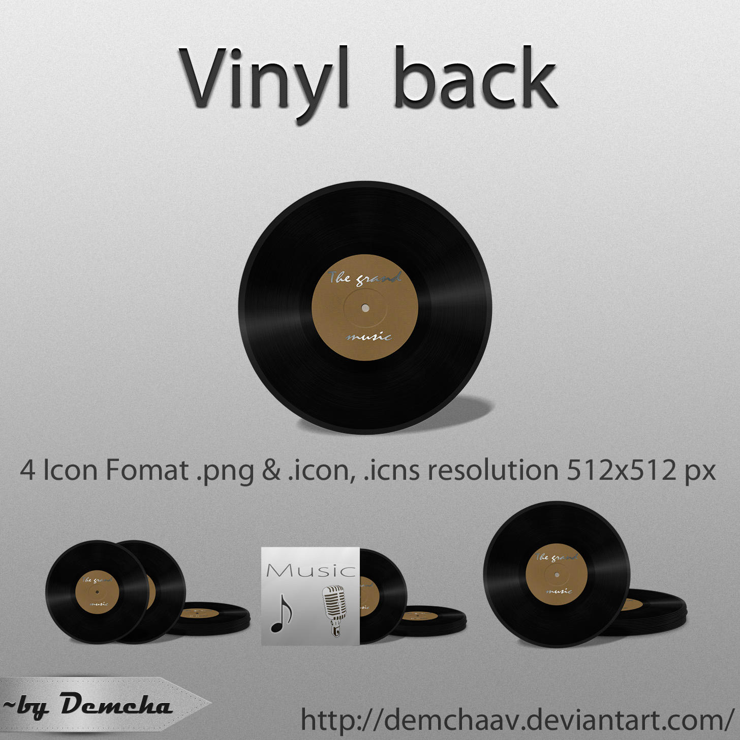 Vinyl back by DemchaAV