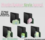 MacOs Folder Style board Black
